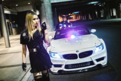 Halloween Police costume