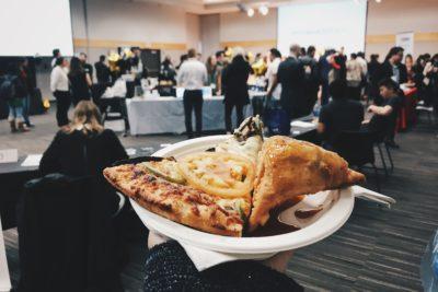 pizza samosa
