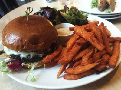 Heirloom Vegetarian Burger
