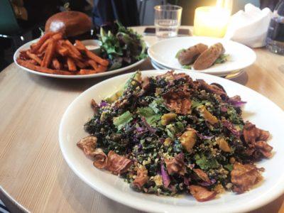Heirloom Caesar salad