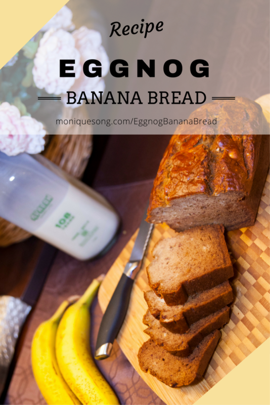 Eggnog Banana Bread